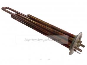 Тэн бойлера THERMEX 2000W (1300W+700W) под 2 термостата медь