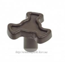 Куплер тарелки для СВЧ -печи 19,5мм тонкий коричневый