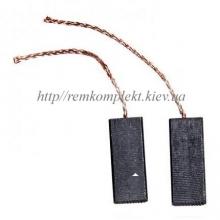 Щетки электродвигателя угольные шнур по центру 5х12,5х32