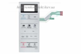 Клавиатура (мембрана) для СВЧ -печи SAMSUNG DE34-00366F