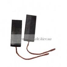 Щетки электродвигателя угольные шнур по центру 5х13,5х35