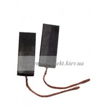 Щетки электродвигателя угольные шнур по центру 5х13,5х32