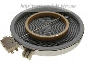 Конфорка для стекло-керамической поверхности Whirlpool 230 мм 481231018895