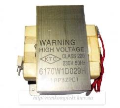Трансформатор высоковольтный LG 6170W1D029H