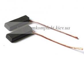 Щетки электродвигателя угольные шнур сбоку 5х12,5х32