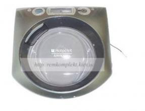 Люк в сборе для стиральной машины INDESIT ARISTON C00290563
