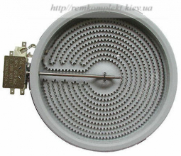 Конфорка для стекло-керамической поверхности Whirlpool 180 мм  480121101516