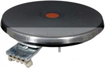 Конфорка для электроплиты чугун с красным кружком 180мм С00099676
