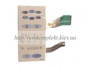 Клавиатура (мембрана) для СВЧ -печи SAMSUNG DE34-10006E