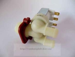 Клапан электромагнитный 2/180º  утолщенные выходы