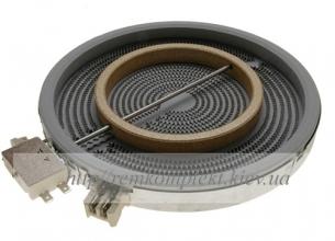Конфорка для стекло-керамической поверхности Whirlpool 210/120 мм 481231018895