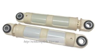 Амортизатор белый пластик L=200mm 120N